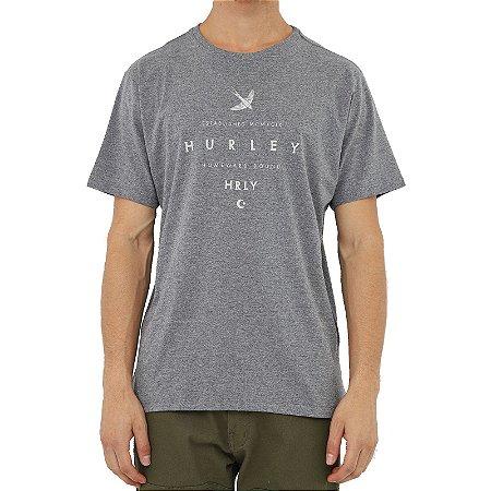Camiseta Hurley Homeward Masculina Cinza Escuro