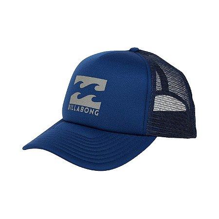 Boné Billabong Podium Trucker Azul Marinho/Cinza