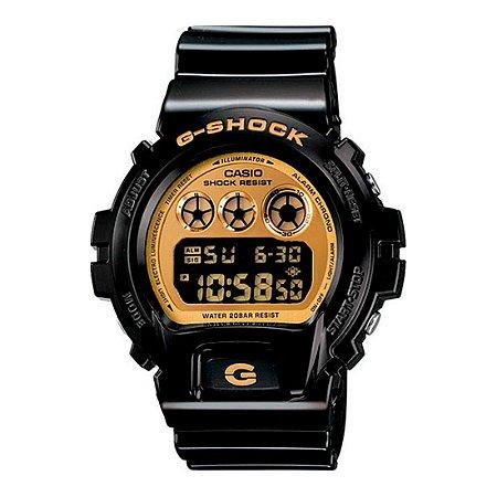 Relógio G-Shock DW-6900CB-1DS Preto/Dourado