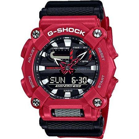 Relógio G-Shock GA-900-4ADR Vermelho