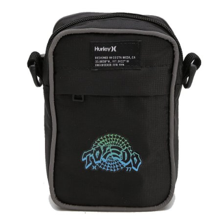 Bolsa Hurley Shoulder Bag Felipe Toledo Spyder Preto