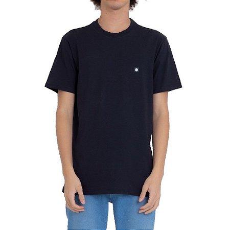 Camiseta Element Sunny Crew Masculina Preto
