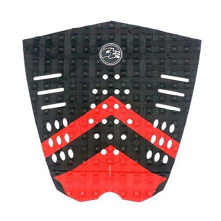 Deck CtWax Nalu Colors Preto/Vermelho