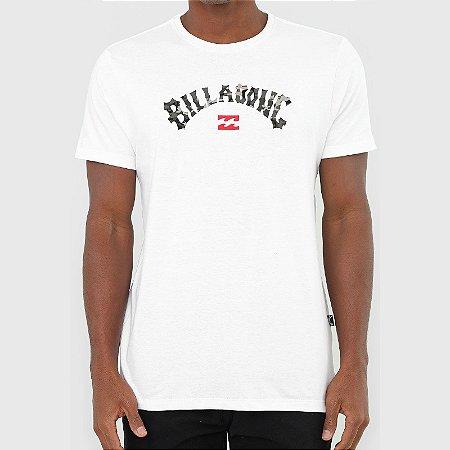 Camiseta Billabong Arch Fill I Masculina Branco