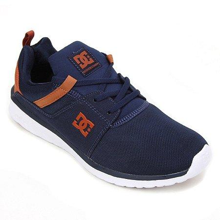 Tênis DC Shoes Heathrow Azul Marinho/Marrom