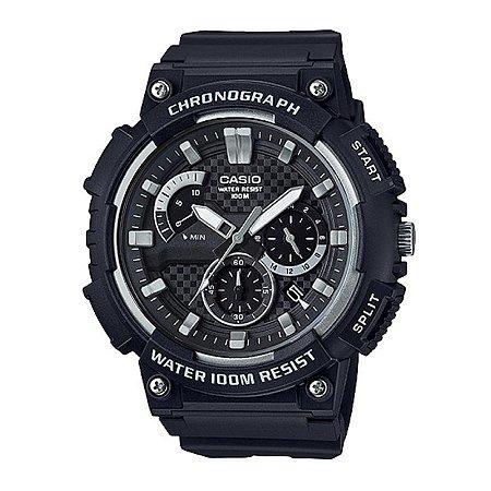Relógio Casio Standard MCW-200H-1AVDF Preto/Cinza