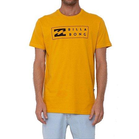 Camiseta Billabong United I Masculina Amarelo