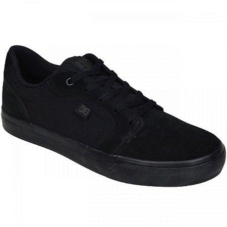 Tênis DC Shoes Anvil LA Preto/Preto