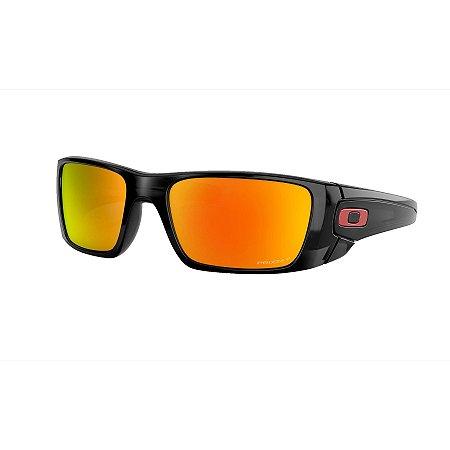 Óculos de Sol Oakley Fuel Cell Black Ink W/ Prizm Ruby Polarized