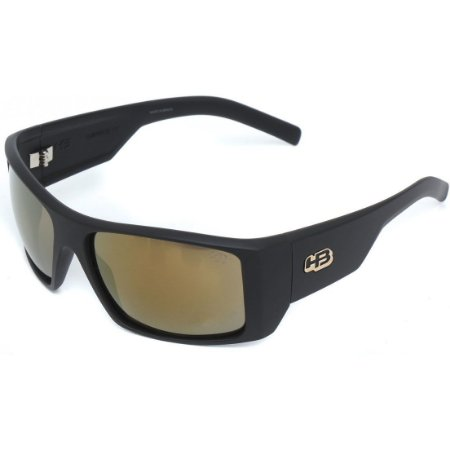 Óculos de Sol HB Rocker 2.0 Matte Black l Gold Chrome