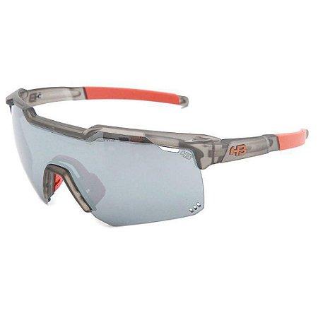 Óculos de Sol HB Shield Evo R Matte Onyx   Silver