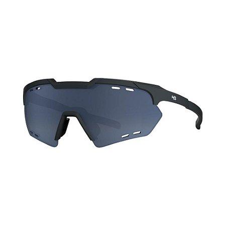 Óculos de Sol HB Shield Compact R Matte Black | Gray