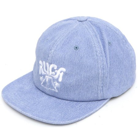 Boné RVCA Aba Reta Active Claspback Azul