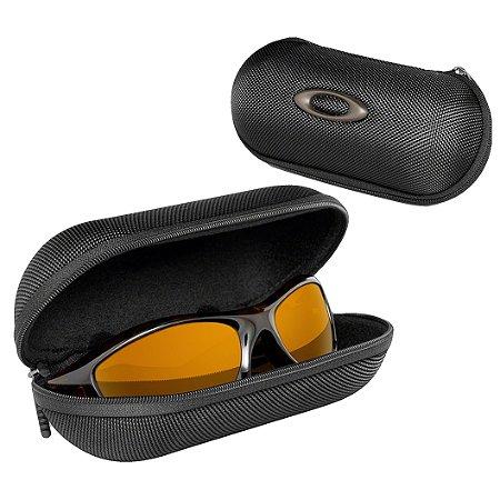Case Estojo Óculos Oakley Lg Soft Vault Preto