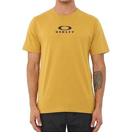 Camiseta Oakley Bark New Dourado
