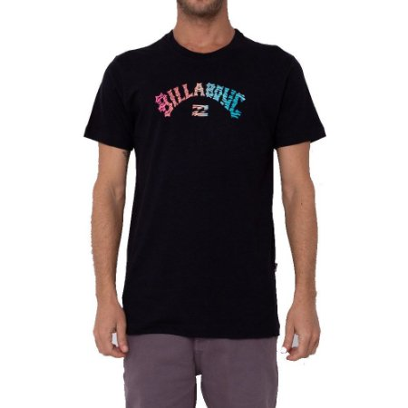 Camiseta Billabong Okapi II Masculina Preto