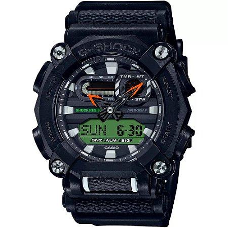 Relógio G-Shock GA-900E-1A3DR Preto