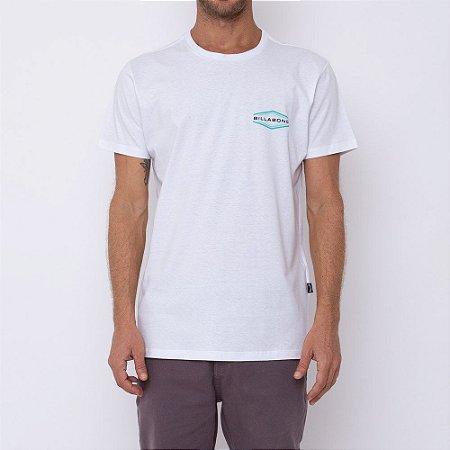 Camiseta Billabong Walled Masculina Branco