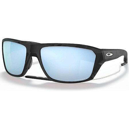 Óculos de Sol Oakley Split Shot Matte Black Camo W/ Prizm Deep Water Polarized