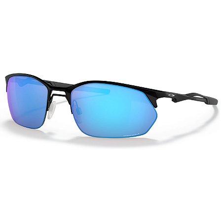 Óculos de Sol Oakley Wire Tap 2.0 Satin Black W/ Prizm Sapphire