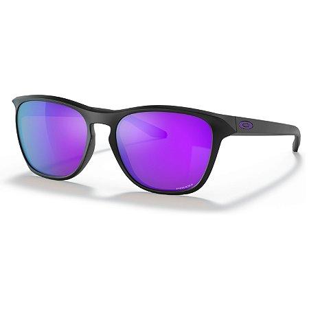 Óculos de Sol Oakley Manorburn Matte Black W/ Prizm Violet