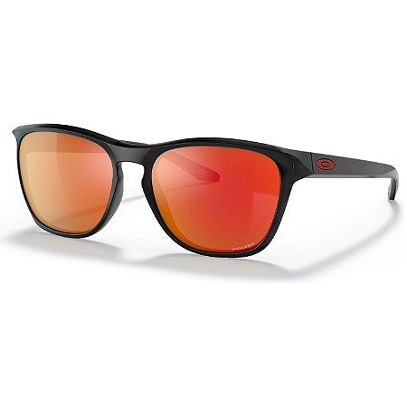 Óculos de Sol Oakley Manorburn Black Ink W/ Prizm Ruby