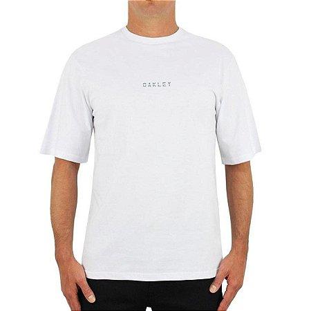 Camiseta Oakley Glowing Commuter Masculina Branco