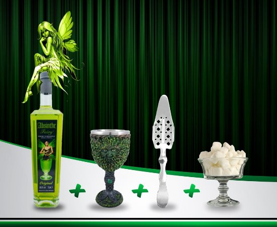 Kit Absinto Fairy Premium Reserve 89,9% #15