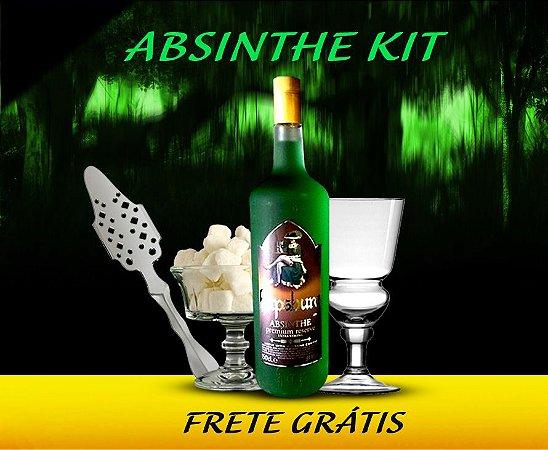 Kit Absinto Hapsburg Premium Reserve 89,9% 1.5L Edição Limitada