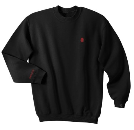 CREWNECK MONKEY LOGO BLACK