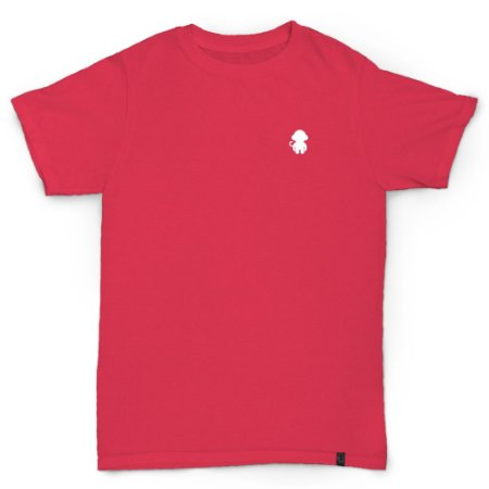 T-SHIRT MONKEY LOGO CHERRY