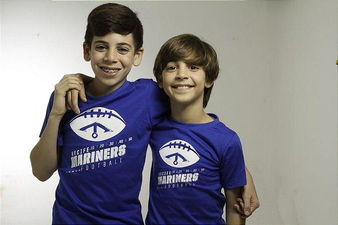 Camisa Passeio Azul - Infantil