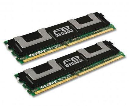 KTH-XW9400LPK2/2G Memória Kingston 2GB (2X 1GB) ECC