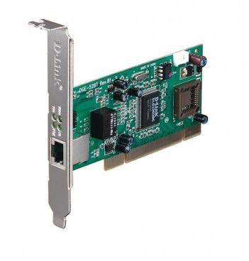 Placa de Rede Pci Gigabit 10/100/1000MBPS D-Link, PN: DGE-528T