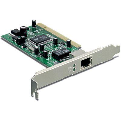 TEG-PCITXR Placa de Rede Trendnet Pci Gigabit 10/100/1000 Mbps RJ45.