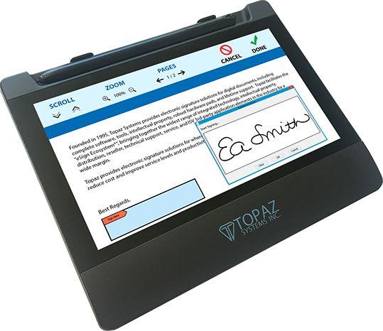 Tablet Topaz Systems Gemview 7 TD-LBK070
