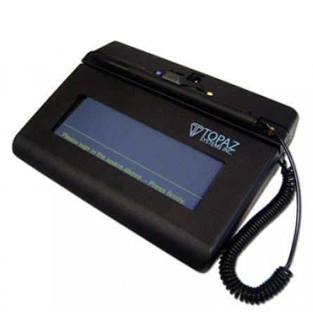 Coletor de Assinatura Topaz Systems Modelo T-S460-BT Siglite 1X5 Bluetooth
