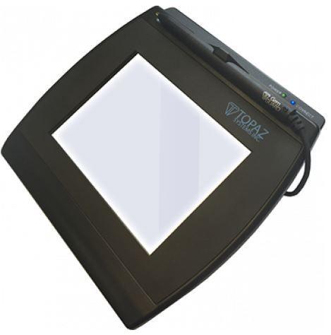 Coletor de Assinatura Topaz Systems T-LBK766SE-BT Modelo Séries Signaturegem LCD 4X5 Bluetooth
