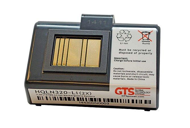 HQLN320-LI (2X) - Bateria GTS Para Zebra QLN220 / Zebra QLN320