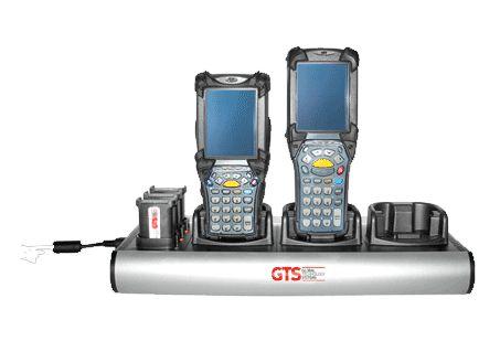 HCH-9033-CHG - Carregador GTS 6 Compartimentos (3 Aparelhos + 3 Baterias) Para Symbol MC9000