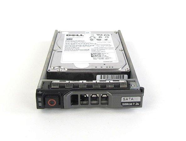 0J770N - HD Servidor Dell 500GB 3G 7.2K 2.5 SATA com G176J