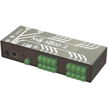 MA-53002 Módulo de Acionamento via rede 10/100 com 16 saídas e 16 entradas e 2 Seriais