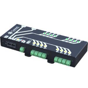 MA-51002FX Módulo de Acionamento via rede fibra ótica 100Base-FX com 8 saídas, 8 entradas e 2 Seriais