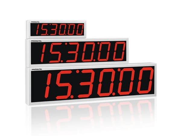 RDI-2M - Relógio Digital de Parede Prodigital - Alcance 40 Metros