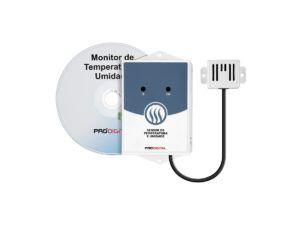 Monitor de Temperatura e Umidade Relativa Para Data Center - Kit Term-1S