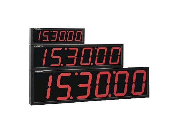 CP-3G - Cronômetro Digital Progressivo 6 Dígitos Prodigital - Alcance 60 Metros