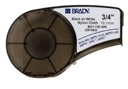 M21-750-499 - Fita Nylon Preto no Branco Brady BMP21
