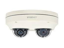 PNM-7000VD Câmera Network Externa 2MP X2 Dome - Hanwha