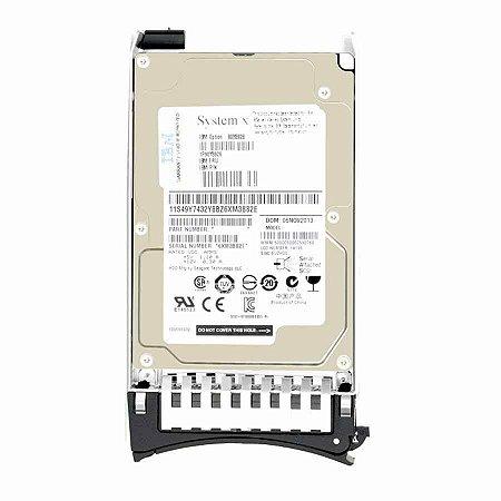 00AD080 - HD Servidor IBM 1,2TB 10K 2.5 SAS