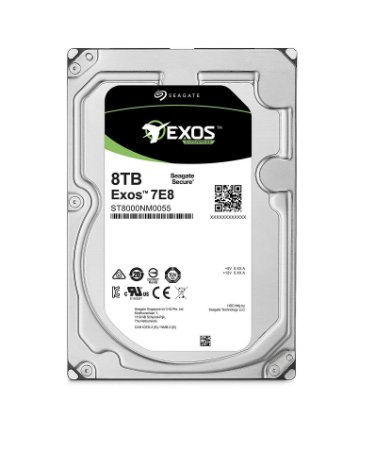 ST8000NM0055 - HD Servidor Seagate 8TB 7.2k 6GB/S 3,5 SATA